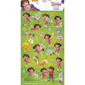 Stickervel twinkle Dora