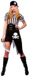 Gestrand piraten kostuum