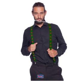 Kerstmis bretels groen