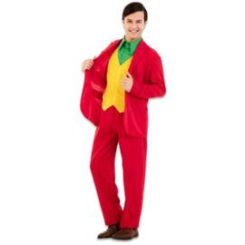 Rood joker kostuum