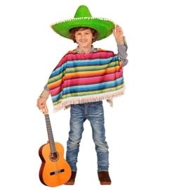 Mexicaanse poncho kinderen