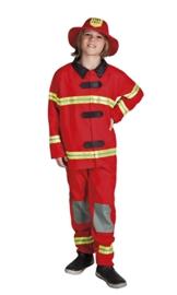 Brandweer kostuum jongens