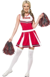 Cheerleader rood wit