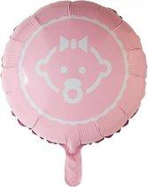 Folieballon baby girl