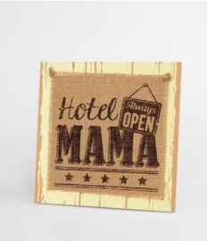 Wooden sign - Mama |