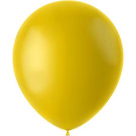 Ballonnen Tuscan Yellow Mat 33cm - 50 stuks