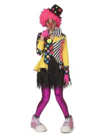 Clown jas Belinda Button | Vrolijke clowns jasje
