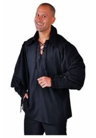Zorro hemd zwart