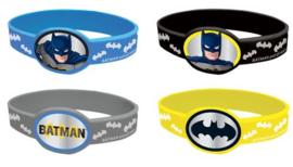 Armbanden Batman 4 stuks