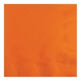 Servetten sun. orange