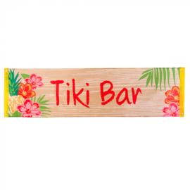 Polyester banner 'Tiki Bar' | Aloha