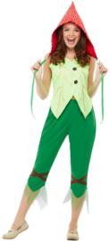 Paddestoel Pixie kostuum