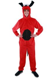 Rode hond kostuum