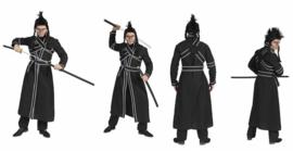 Samurai japans kostuum