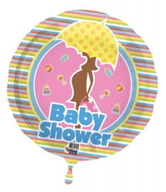 Baby shower folieballon excl.
