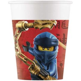 Lego Ninjago bekers 8 stuks