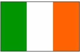 Vlag Ierland 90x150
