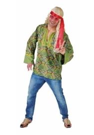 Hippie mannen blouse