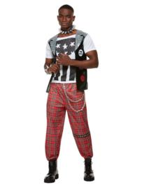 Punk Rocker kostuum heren