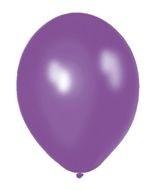 Kwaliteitsballon standaard - paars - 10 stuks