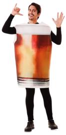 Funny Bierglas kostuum