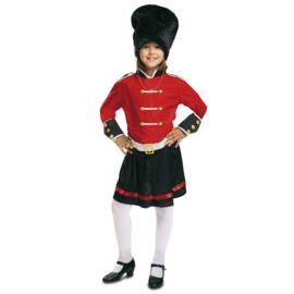 Engelse wachter jurkje meisje