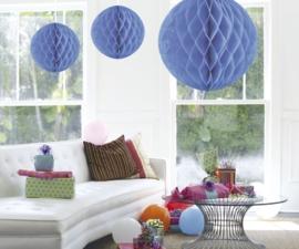Honeycomb deco groot lichtblauw