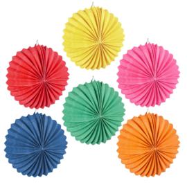 Kleurrijke Ballonlampionnen 22 Cm Papier 12 Stuks