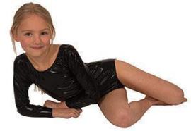Dance body suit zwart