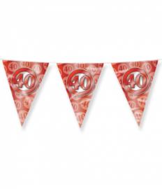 Party Vlaggen - 40 jaar getrouwd | Vlaggenlijn