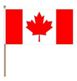 Zwaai vlaggetje Canada
