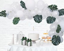 Ballonnen decoratie set luxe | wit