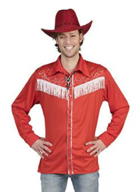 Line dance shirt rood
