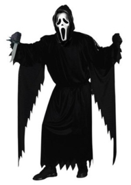 Scream kostuum compleet