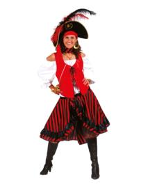 Piraat zwarthart jurk