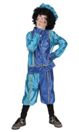 Goedkoop Pietenpak blauw turqoise