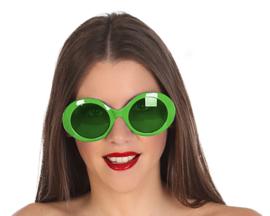 Disco bril dames | groen