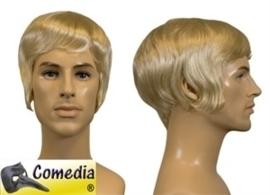 Theaterpruik Heer kort blond