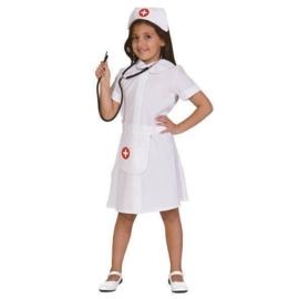 Verpleegsters kostuum meisje