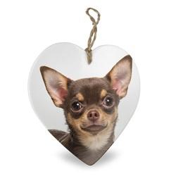 Chihuahua | Stenen deco hart