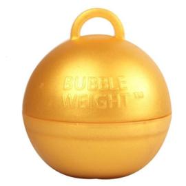 Ballongewicht bubble goud