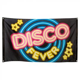 Polyester vlag 'Disco fever' (90 x 150 cm)
