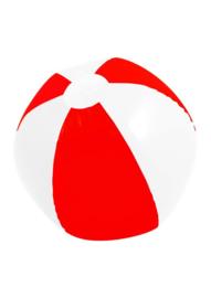 Mega Opblaasbare bal rood wit 150 cm