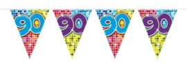 Mini vlaggenlijn 90 jaar