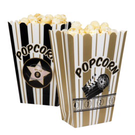 Hollywood popcorn bakjes