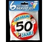 Fun Bierviltjes 50 jaar abraham