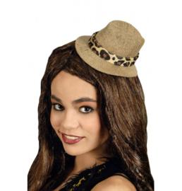 Mini safari hoedje