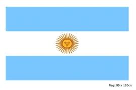 Vlag Argentinie 90x150