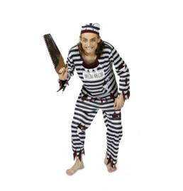 Kostuum zombie gevangene