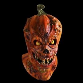 Scary pompoen masker